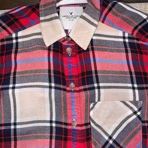 American Eagle 🦅 Flannel Shirt XS
